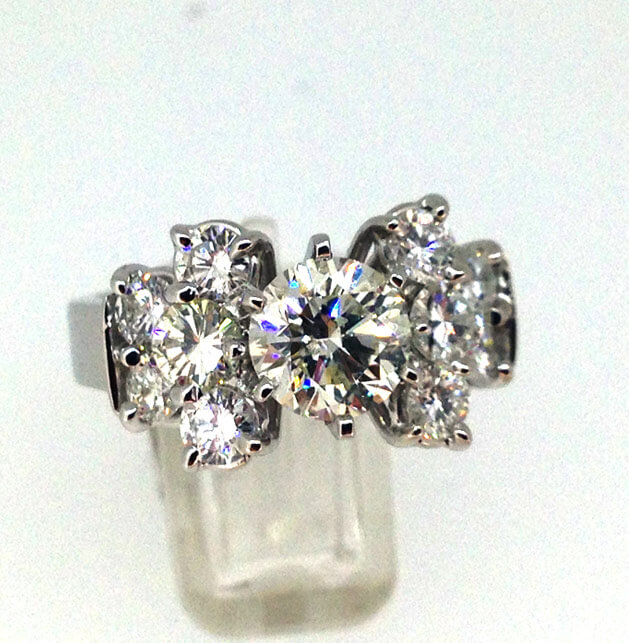 custom made diamond rings
