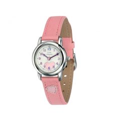 pink girl children's watch