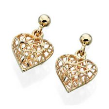gold heart jewellery online