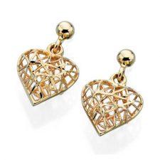 gold heart jewellery online